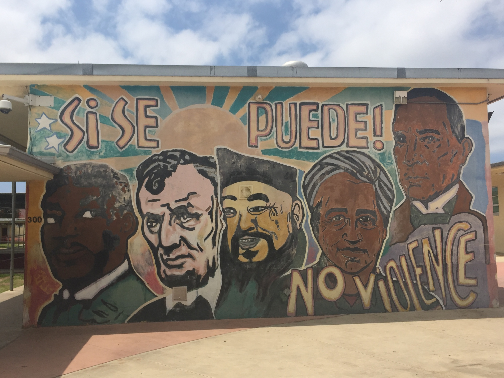 This is an example of student voice graffiti