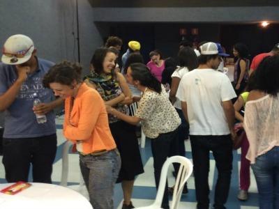 SoundOut workshop participants in São Paulo, Brasil.
