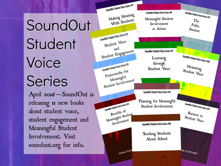 SoundOut Student Voice Series is now available!