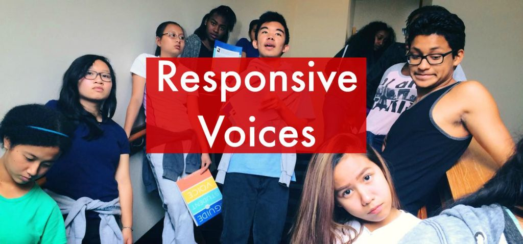 Students at the SoundOut Student Voice Summer Camp in Seattle, Washington