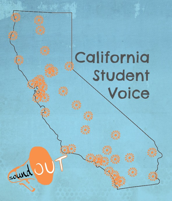 Map of Student Voice in California by SoundOut