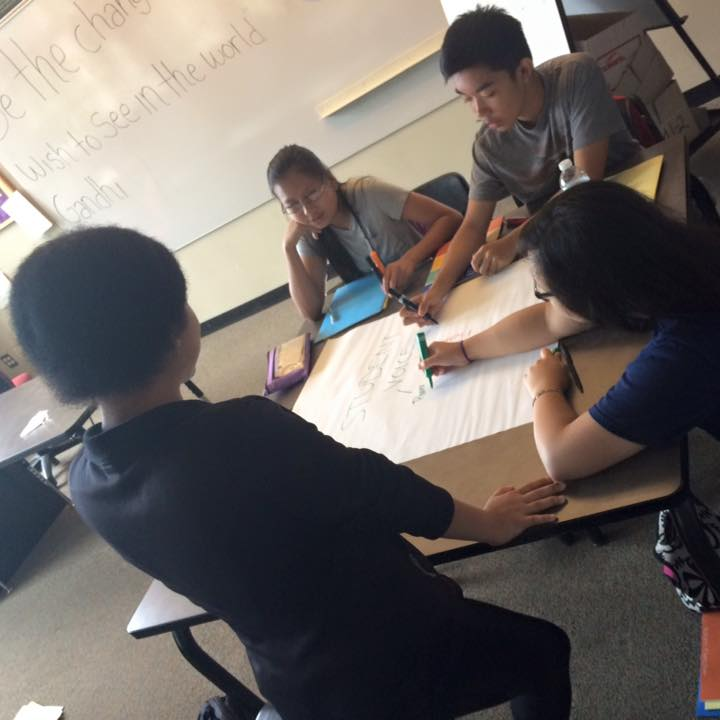 SoundOut students in Seattle action plan a school improvement process for their school.