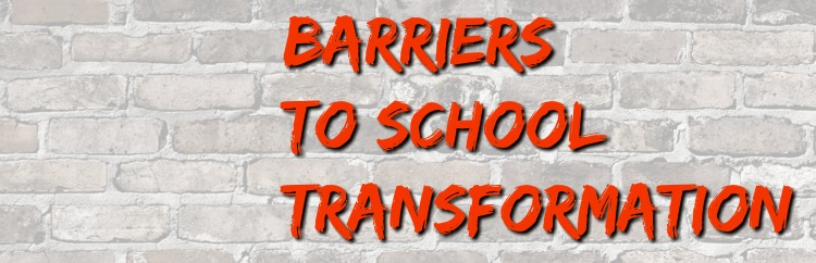 Barriers to School Transformation from SoundOut